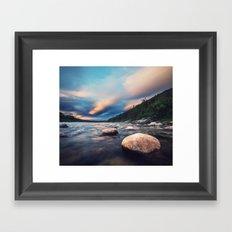 La Poile Sunset Framed Art Print