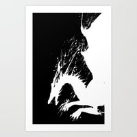 dragon age Art Prints featuring Dragon Age by Jamelia