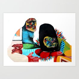 We all need someone we can Lane on Art Print