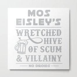 Mos Eisley Cantina Metal Print