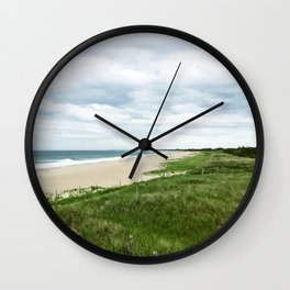 Surfside Beach, Nantucket Wall Clock