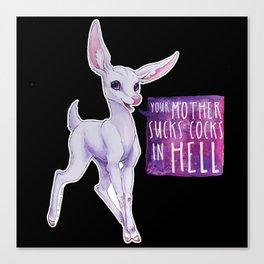 Demon Deer Canvas Print