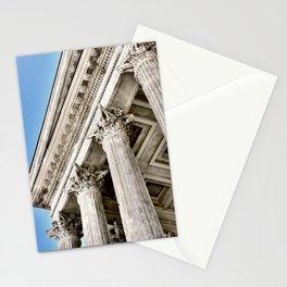 Roman Temple Corinthian Columns Nimes Provence France Stationery Cards