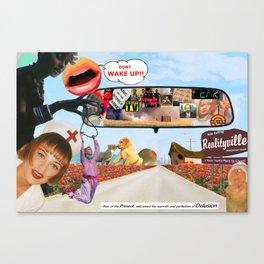 Realityville Canvas Print