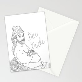 Dev Dude Stationery Cards