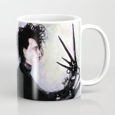 Edward Scissorhands: The story of an uncommonly gentle man. Mug