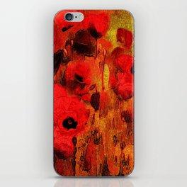 FLOWERS - Poppy reverie iPhone Skin