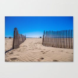 Sweat beach Canvas Print