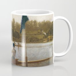 Thomas Eakins - The Biglin Brothers Turning the Stake Coffee Mug