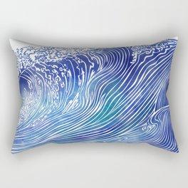 Pacific Waves Rectangular Pillow