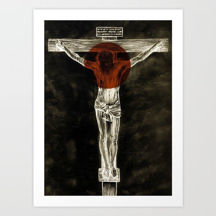 Behold the Lamb of God Art Print
