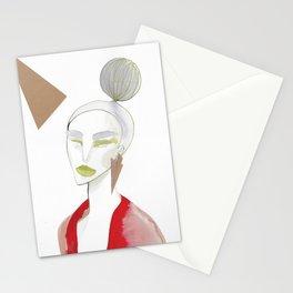 Marleen has sharp edges Stationery Cards