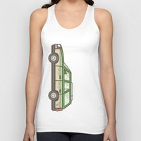 beaver Tank Tops featuring Beaver Whack by MegDraws
