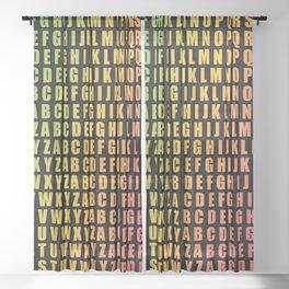 AlphaBeta Sheer Curtain