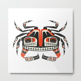 The Crab Metal Print