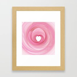 Valentine's Fractal I - Light Framed Art Print