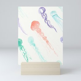 Jellyfish festival Mini Art Print