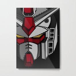 095 Gundam Full Metal Print