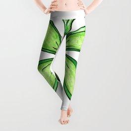 """""""Green"""" Color Chakra Flowerkid Leggings"""