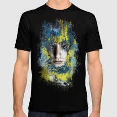 Shutter Black MEDIUM Mens Fitted Tee