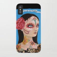 Día de los Muertos iPhone X Slim Case