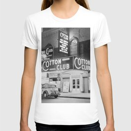 African American Harlem Renaissance Cotton Club Jazz Age Photograph T-shirt