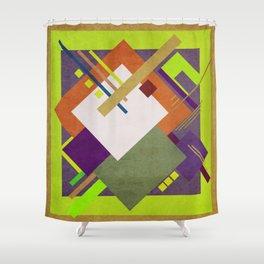 Geometric illustration 40 Shower Curtain