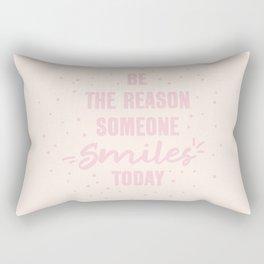 Smile Today Rectangular Pillow