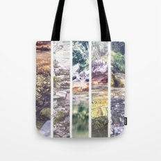 Beach Stripes Tote Bag