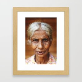 Sri Lankan Soul Framed Art Print