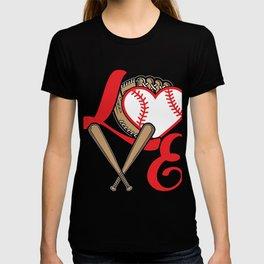 Baseball Lovers Softball Mom Fan Gift T-shirt