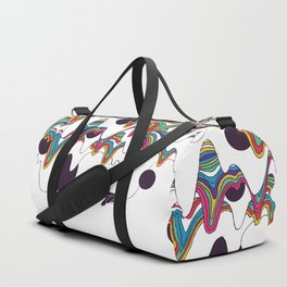 Psychedelic Planet Duffle Bag
