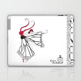 Katharina- Lady butterfly Laptop & iPad Skin
