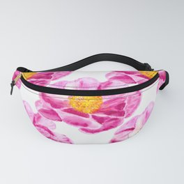 Seamless background with flowers Fanny Pack