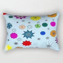 color me flaky Rectangular Pillow