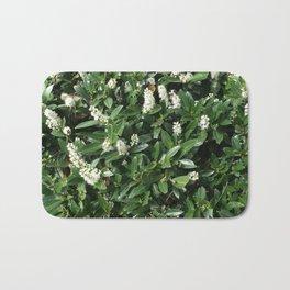 green/white Bath Mat