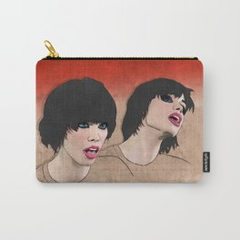 Alice Glass 2 transparent Carry-All Pouch