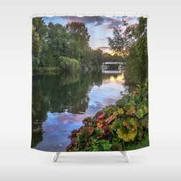 The Thames At Pangbourne Shower Curtain