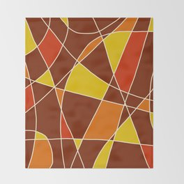 Abstract Painting #2 Throw Blanket