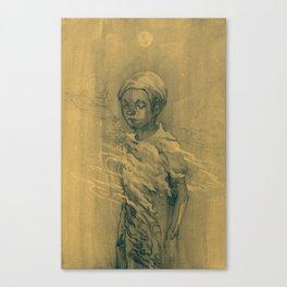 Alone2 Canvas Print