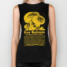 Grow Mushrooms! Biker Tank