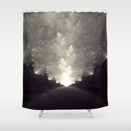 The Obvious Road Shower Curtain