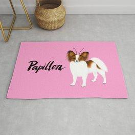 Papillon (Pink) Rug
