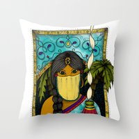 morocco Throw Pillows featuring Morocco by ZANA
