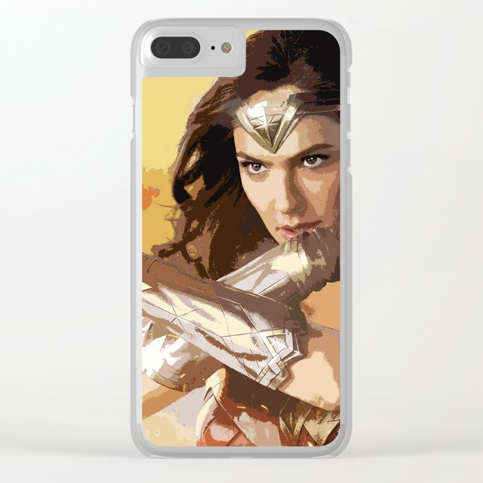 Diana Prince 2 Clear iPhone Case