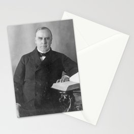 Vintage President William McKinley Photograph Stationery Cards