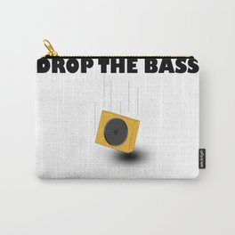 Drop The Bass Carry-All Pouch