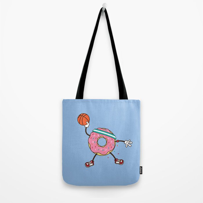 Dunking Donut Tote Bag
