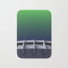 I want to believe - brutalism and UFOs Bath Mat