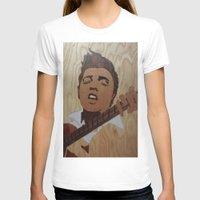 elvis presley T-shirts featuring Elvis Presley  by Andulino